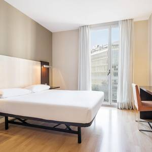 Chambre accessible Hotel ILUNION Auditori Barcelone